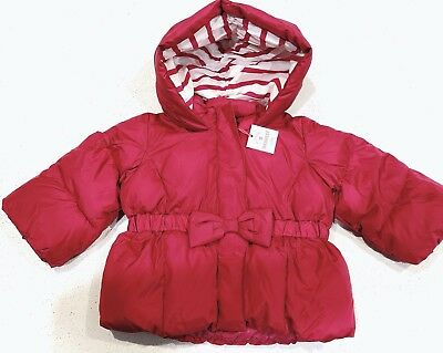 Brand New Baby Gap Girl Jacket Red 6-12Mths