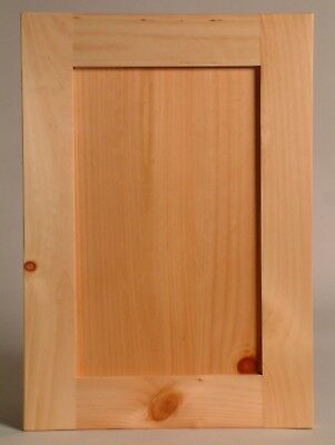 Shaker Maple Cabinet Door paint or stain grade Include Hinges & Drilling We MFG