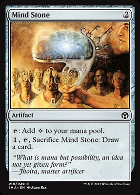MRM ENGLISH 4x Mind Stone (Pierre de l'esprit) MTG magic IMA