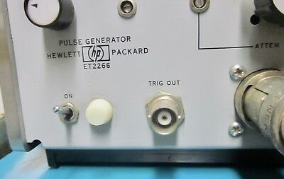 Vintage Hp Et2266 Pulse Generator Plus Gr874 To Bnc And Power Cord