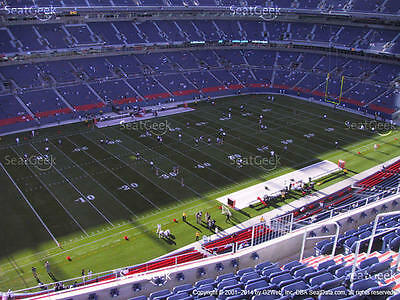 2 Seattle Seahawks vs Denver Broncos 2018 Tickets 15th Row Section 539 Aisle