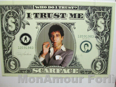 Poster cm.60x90  FILM SCARFACE