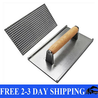 Food Aluminum Commercial Grill Press Cooking Weight Flat Iron Steak Burger Bacon