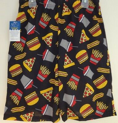 S 6/7 Themed unisex sleep shorts Snack and Favorite Food branded