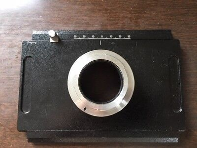 """Canon EOS Digital Back Adapter For 4x5"""" Large Format Camera"""