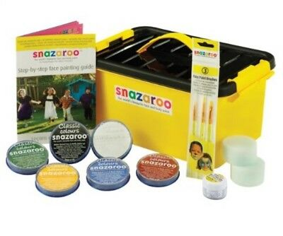 Snazaroo Face Paint Mini Starter Kit Water Based, Sensitive Skin