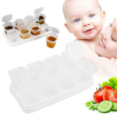 Useful Creative 8PCS/Set Container Tableware Snack Infant Food Storage Box