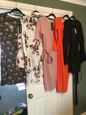 Ladies Size 12 New Clothes Bundle Boohoo Missguided Pretty Little Things Woman's