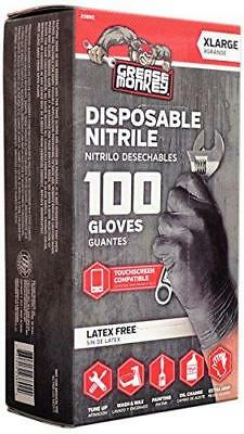 Big Time Products Grease Monkey Disposable Nitrile Gloves (X-Large) - Pack of