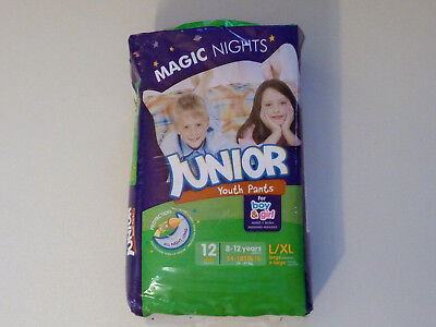 Couches Magic Nights - 8/12 ans - 24/47 kg