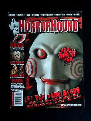 Horrorhound Magazine Issue #4 Saw Iii Billy Puppet Cover Jason Voorhees Comic