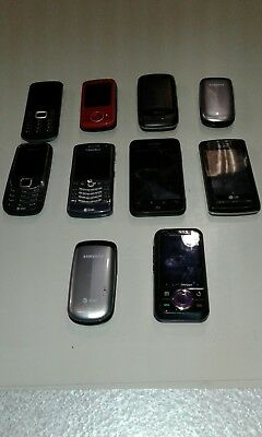 Cell phones (parts only)
