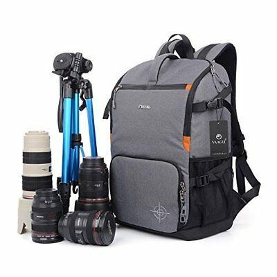 DSLR Camera Bag Backpack Travel 15-inch Laptop Pack Multi-functional Anti-shock