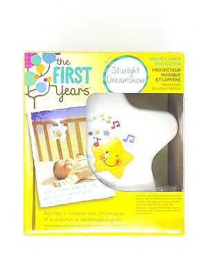 - NEW - The First Years Starlight Dream Show - Lights & Sounds Nightlight