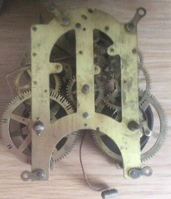 Ansonia Company New York Mantel clock movement and dial - non working