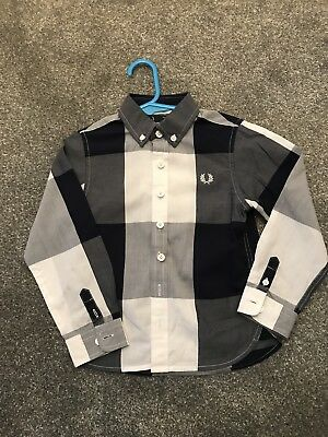 Fred Perry Boys Shirt Age 2-3
