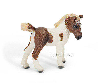 Schleich 13687 Falabella Foal Pinto Miniature Model Horse Toy {{RETIRED} - NIP