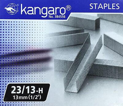 "Replacement Staples 23/13 (1/2"" / 13mm) for KW-Trio Long Reach Stapler"