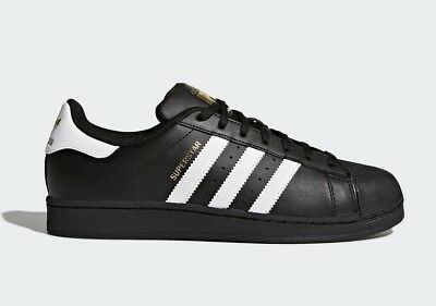 62e24ec9607 Adidas Originals Men's SUPERSTAR FOUNDATION Shoes Core Black/Cloud White  B27140