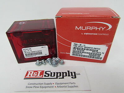 New Murphy 760A-30-12 30 Second Time Delay Magnetic Switch Part # 25700169