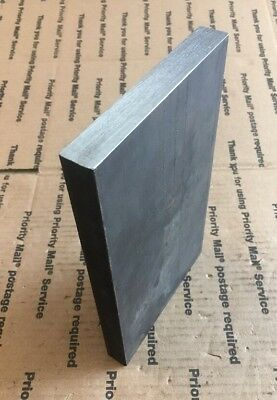 "1 X 4 X 8/"" Steel Flat Bar Plate THICK Blacksmith Bench Plate Welding Bracing"