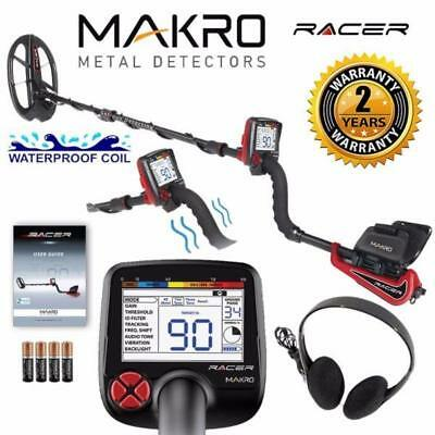 Makro Racer Metal Detector: Package Includes: Blk Storage bag & finds pouch