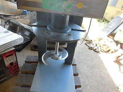 Food Processor Chopper COMMERCIAL 220 VOLTS single 45 inches tall 16 wide 1.5 ga