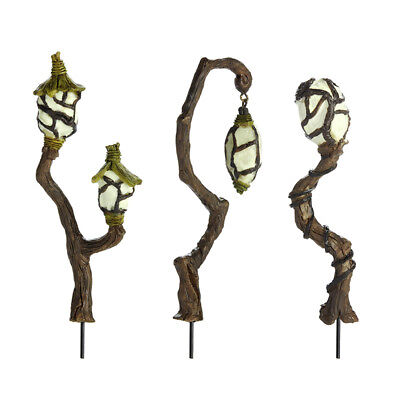 My Fairy Gardens Mini - Fairy Swamp Lanterns - Set of 3 - Supplies