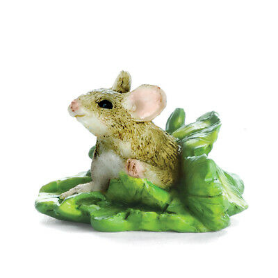 My Fairy Gardens Mini - Mouse In Lettuce - Supplies