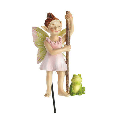 Miniature Dollhouse FAIRY GARDEN - Swamp Fairy - Froggie 'n Flossy - Accessories