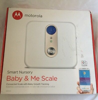 Motorola Smart Nursery Baby & Me Scale – Connected Scale with Baby Growth Tracki