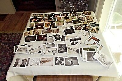 Lot of 163 Vintage Polaroid Photos  Family People Things 1970s 1980s