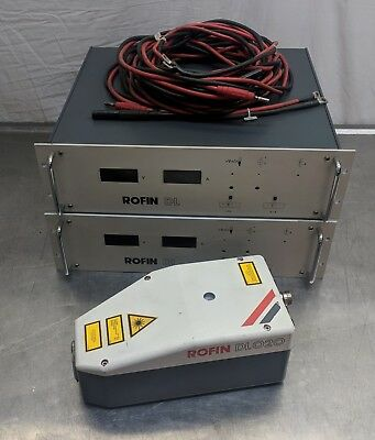 rofin DL020 2kw direct diode laser with power supply - dilas spectra physics ipg