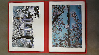 Brad Bennett Signed Limited Edition Lithograph Collection United States Numbered