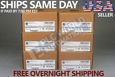 2018 New Factory Sealed Allen Bradley 1769-Pb4 /a Power Supply Free Next Day Air