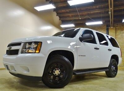 Tahoe LS 4WD 2008 Chevrolet Tahoe 4WD, White, 67k Miles, TX Truck, 6 Pass. Tow Package