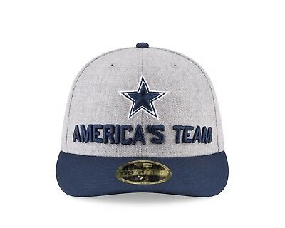 9d8d21c3cd9b0 DALLAS COWBOYS NEW Era 2018 NFL Draft On-Stage Low Profile 59FIFTY ...