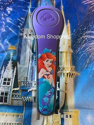 Disney Parks ARIEL LITTLE MERMAID PURPLE Magic Band 2 Magicband Link It Later