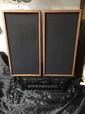 Vintage Pair of KLH Model 17 (Seventeen) Speakers in Good Working Order