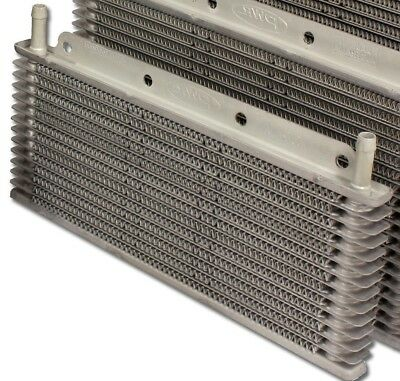 """AUTOMATIC TRANSMISSION OIL COOLER KIT 280x255x19mm 3/8"""" Barbs 30-Rows"""