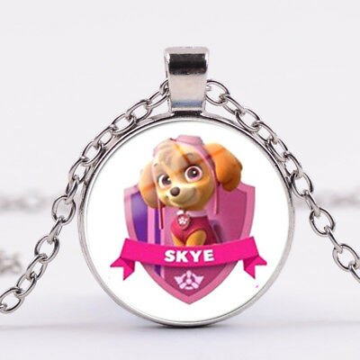 Skye Paw Patrol Necklace Birthday Party Gift Lolly Bag/ Loot Box Filler