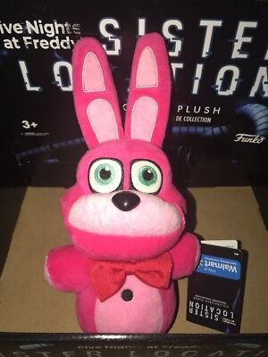 Five Nights At Freddy's Sister Location BONNIE Plush WALMART EXCLUSIVE (PINK)