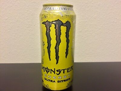 Monster Energy Ultra Citron Full Can Not Available In Stores