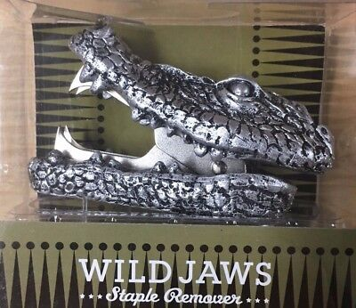 NEW!!! Wild Jaws Crocodile Staple Remover - Great gift for The Boss or Coworker