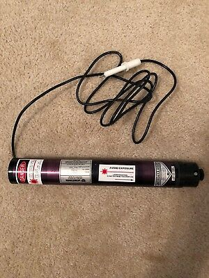 Uniphase 1122 Helium Neon Laser 5.0mW 632.8nm