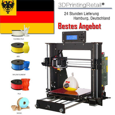 From DE DIY 3D Printer Prusa i3 Reprap+MK8 Extruder, MK3 Heatbed, LCD Controller