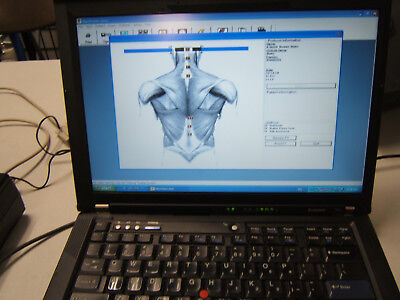 Laptop w/Validated Myovision 8000 Software Installed, Ready to Use! Chiropractor