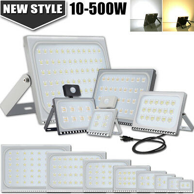 LED Flood Llight 10W 20W 30W 50W 100W 150W 200W 300W 500W Outdoor Lamp Thin New