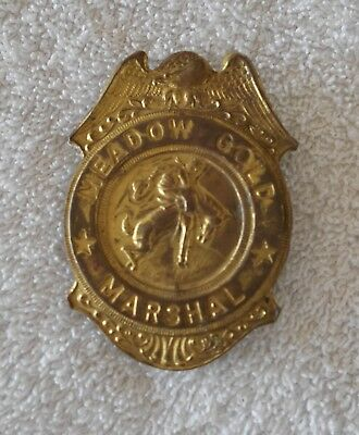 Meadow Gold, Marshal Badge, Grammes, Allentown Pa