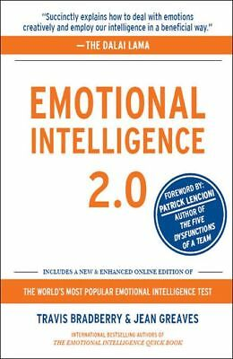 Emotional Intelligence 2.0 by Travis Bradberry and Jean Greaves (2009, eBooks)